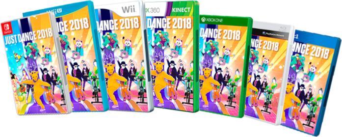 Just Dance 2018 in uscita il 26 ottobre
