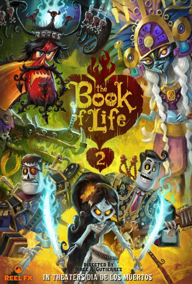 Il poster originale di The Book of Life 2