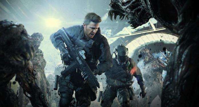 Chris Redfield in azione in Resident Evil 7