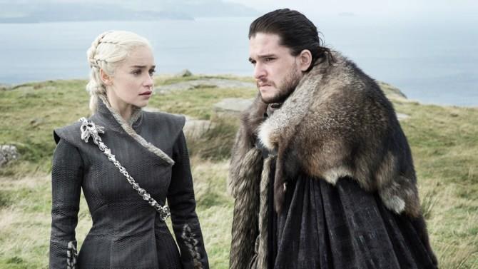 Daenerys Targaryen e Jon Snow