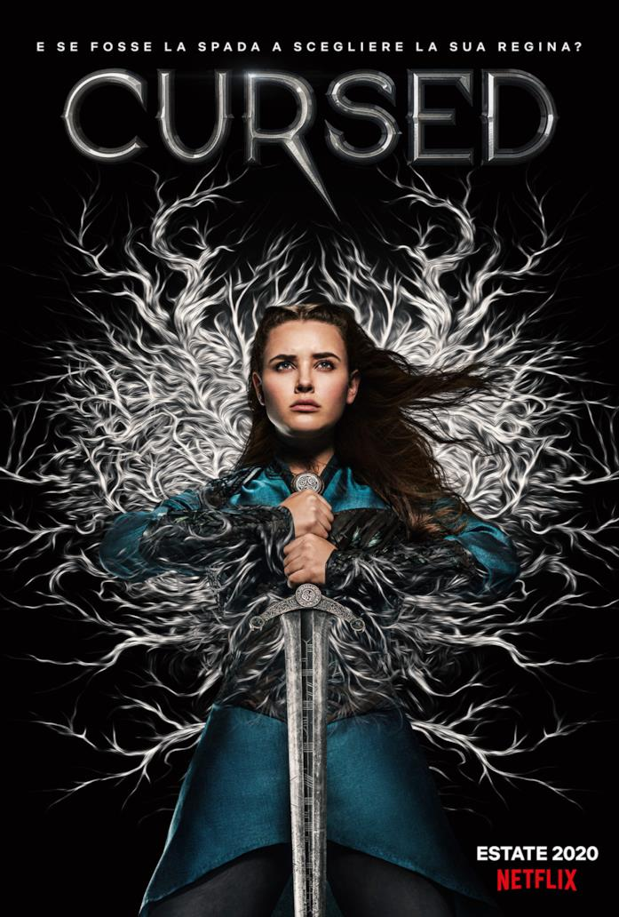 Il poster ufficiale della serie Netflix Cursed