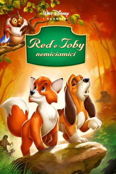 Poster Red e Toby nemiciamici