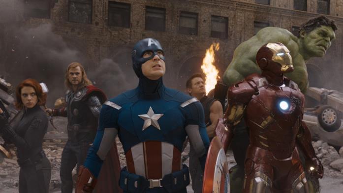 Gli eroi in The Avengers