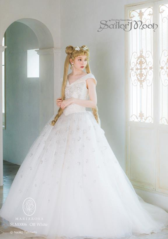 L'abito da sposa ispirato a Sailor Moon