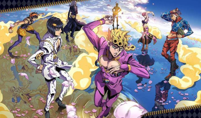 Vento Aureo Anime
