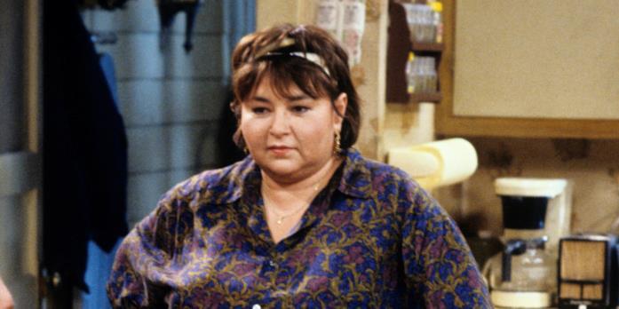 Roseanne Barr ai tempi della serie