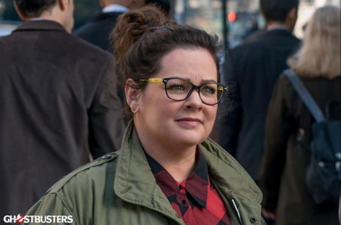 Melissa McCarty in un'immagine di scena dal nuovo Ghostbusters