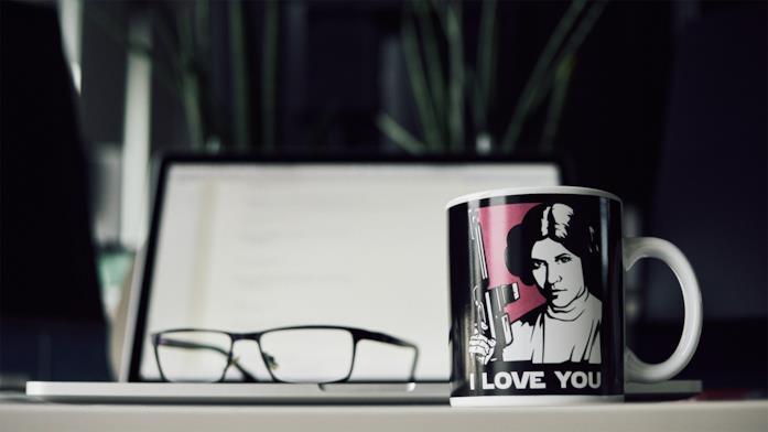 La tazza di Star Wars Principessa Leila