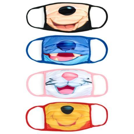 Mascherine in tessuto: quattro sorrisi Disneyiani