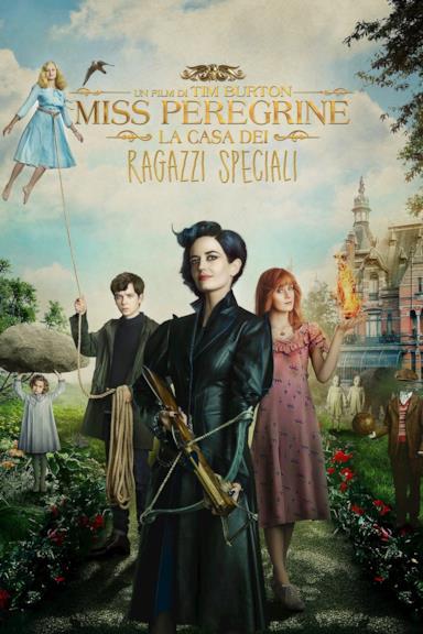 Poster Miss Peregrine - La casa dei ragazzi speciali