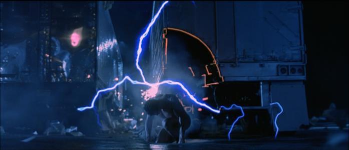 Terminator 2 arrivo nel passato del Terminator T-800