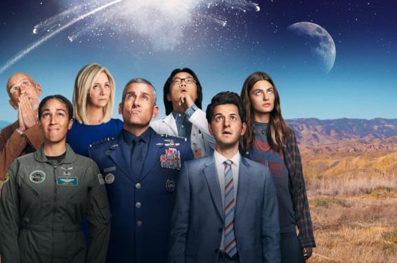 I protagonisti di Space Force