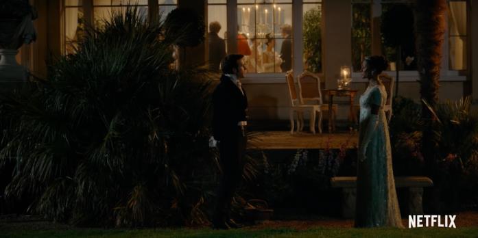 Anthony e Kate discutono nel teaser di Bridgerton 2