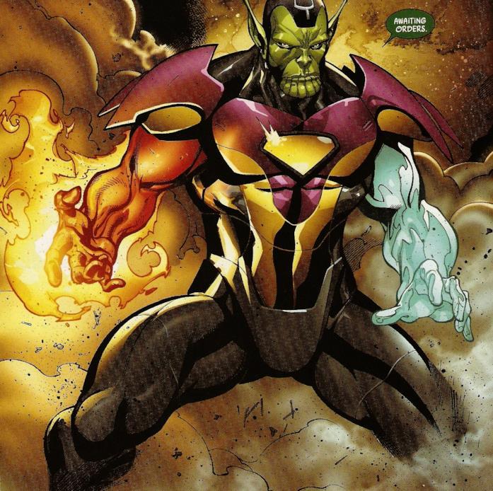 Il Super Skrull nei fumetti