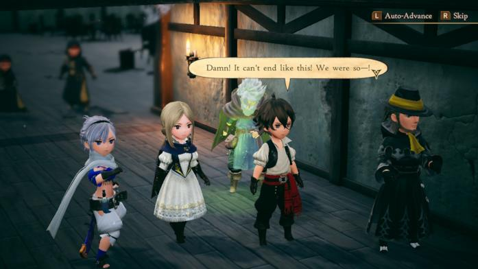 Personaggi scene Bravely Default