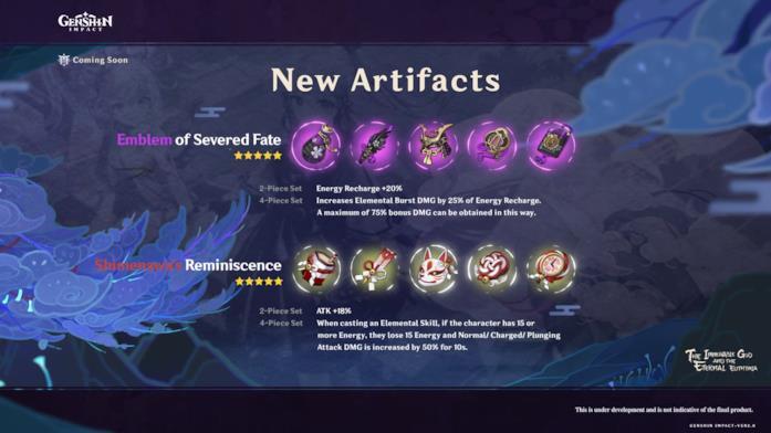 I set Emblem of Severed Fare e Shimenawa's Reminiscence