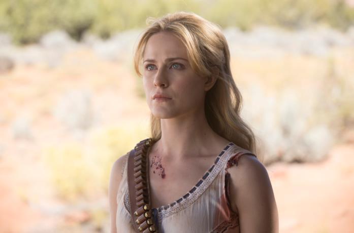 Evan Rachel Wood è Dolores in Westwirld