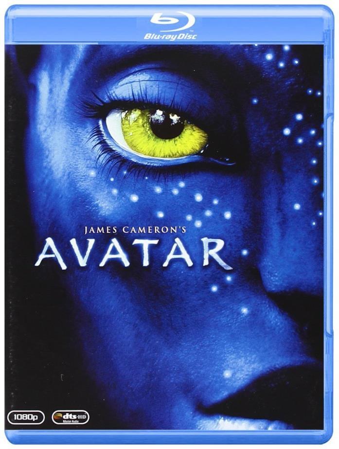 Copertina del cofanetto Blu-ray di Avatar