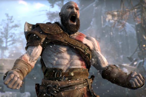 Kratos in God of War del 2018