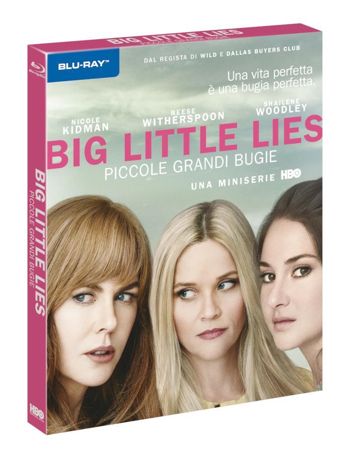 I primi piani di Nicole Kidman, Reese Witherspoon e Shailene Woodley