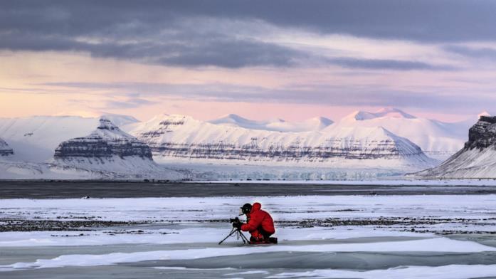 Immagine tratta dal documentario Ice on Fire, prodotto da Leonardo DiCaprio