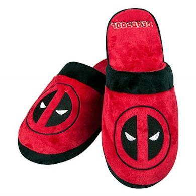 Deadpool Pantofole da lancio Marvel Adult Mule ufficiali - UK 8-10 One Size