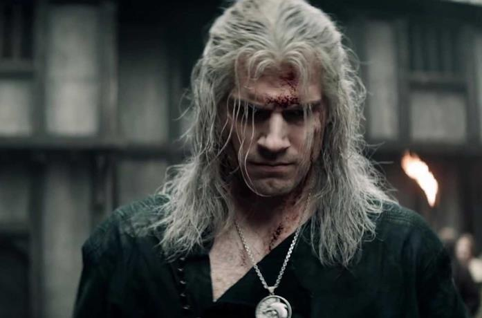 Henry Cavill è Geralt in The Witcher