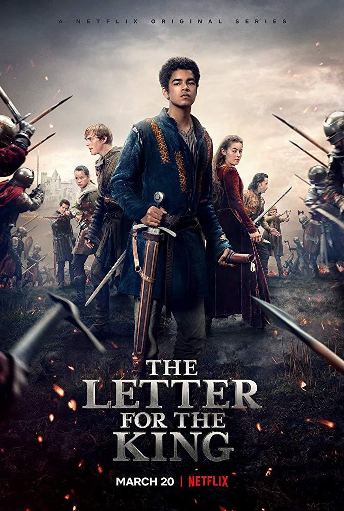 Il poster della serie The Letter for the King