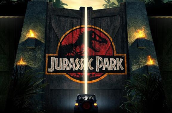 L'ingresso del Jurassic Park