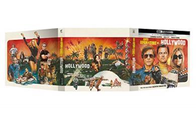 C'era una volta a... Hollywood - Vinyl Edition 4K Ultra Hd + Book Fotografico + Poster (Collectors Edition) (2 Blu Ray)