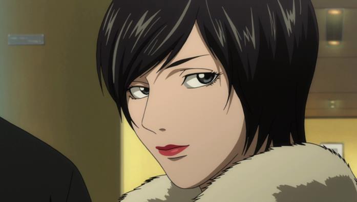 Kiyomi Takada è la portavoce di Kira in Death Note