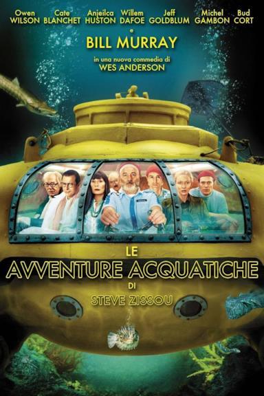 Poster Le avventure acquatiche di Steve Zissou