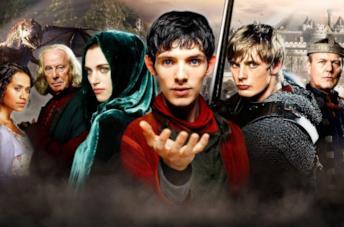 Il cast di Merlin