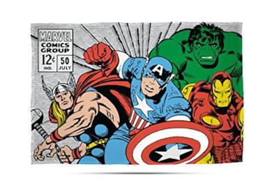 """Disney Coperta in Pile Marvel Comics """"Retro"""", Design conGrande Stampa"""