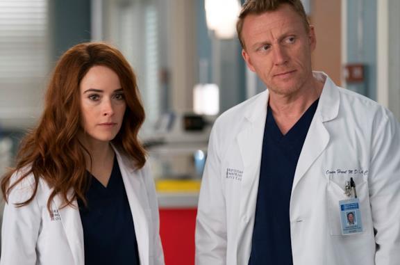 Kevin McKidd nei panni di Owen Hunt in Grey's Anatomy