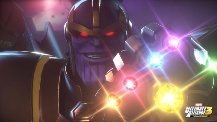 Thanos in Marvel La Grande Alleanza 3: L'Ordine Nero