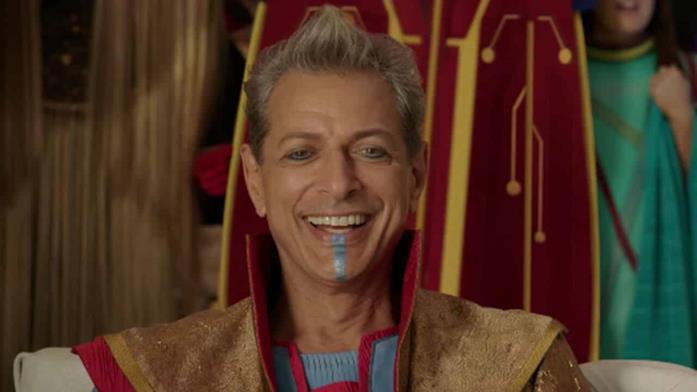 Jeff Goldblum nel ruolo del Gran Maestro
