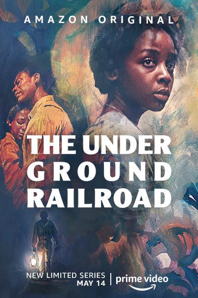 Il cast nella locandina di The Underground Railroad