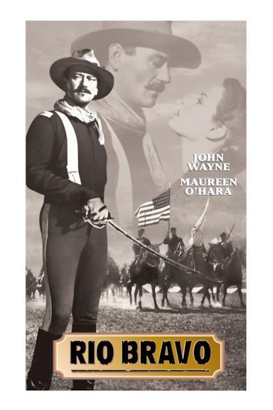Poster Rio Bravo