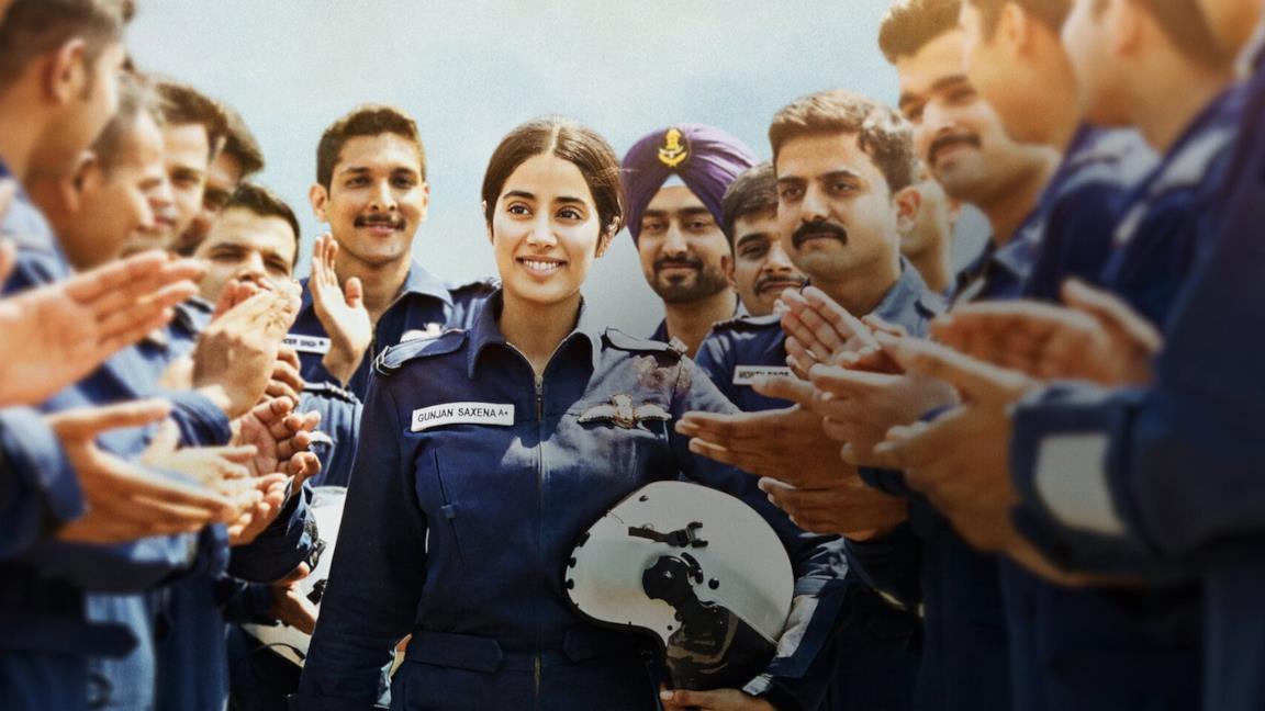Gunjan Saxena: The Kargil Girl, il film Netflix ispirato a una storia vera