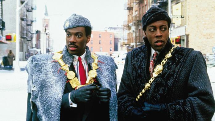 Akeem e Semmi a New York ne Il principe cerca moglie