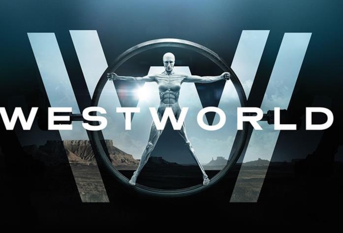 Il logo di Westworld, serie TV di HBO