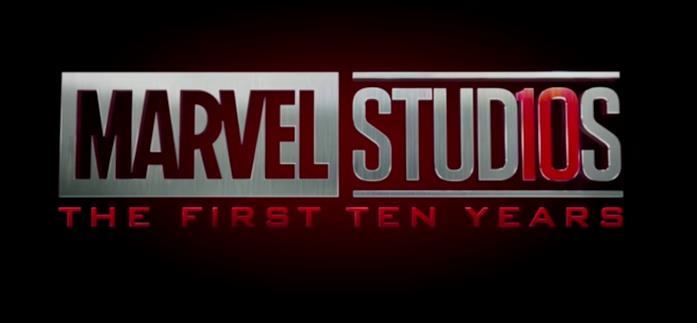 Il logo Marvel Studios con il numero 10