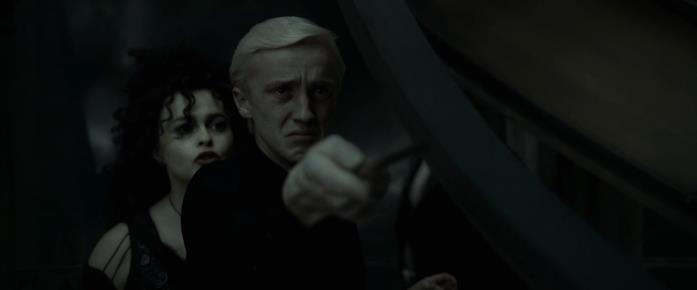 I Mangiamorte entrano a Hogwarts