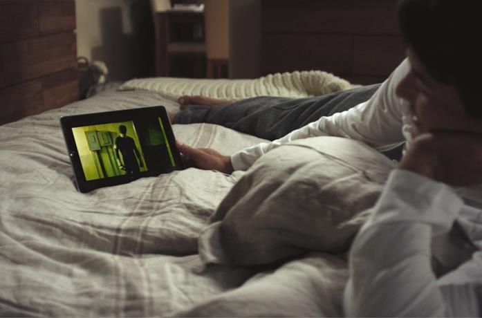 Pronti per una visione su Netflix da tablet