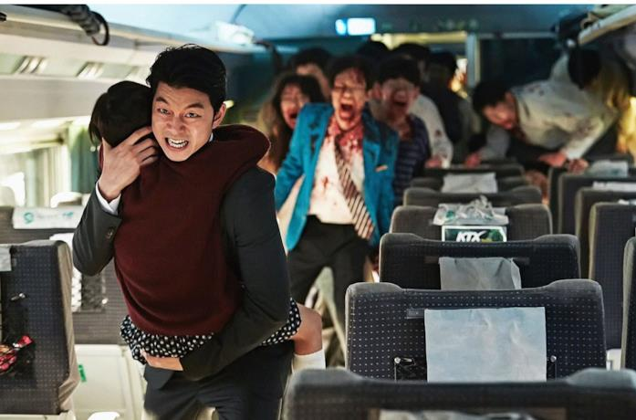 Una scena del film Train To Busan