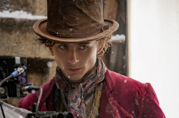 Timothée Chalamet nella prima immagine promozionale di Wonka