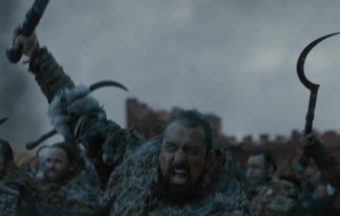 Dothraki in Game of Thrones 8x06