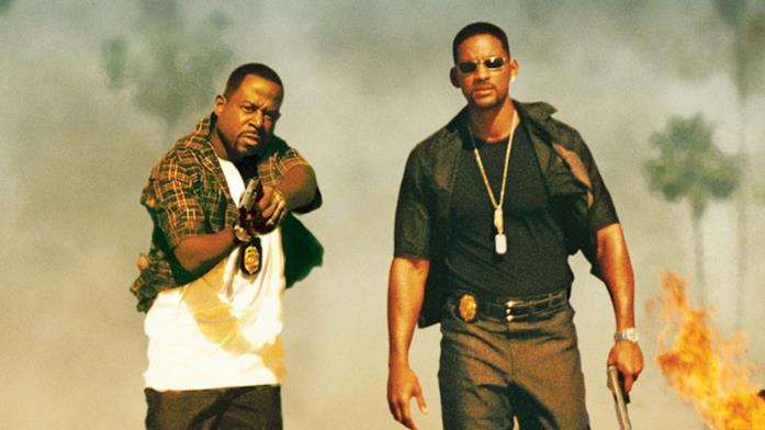 Martin Lawrence e Will Smith in una foto promozionale di Bad Boys 2
