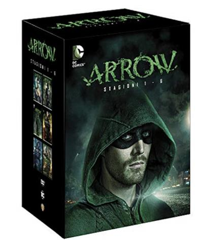 Cofanetto DVD di Arrow - Stagioni 1-6